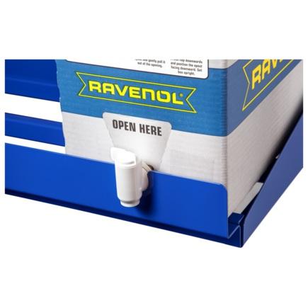Упаковка Bag in Box с краном для слива масла RAVENOL