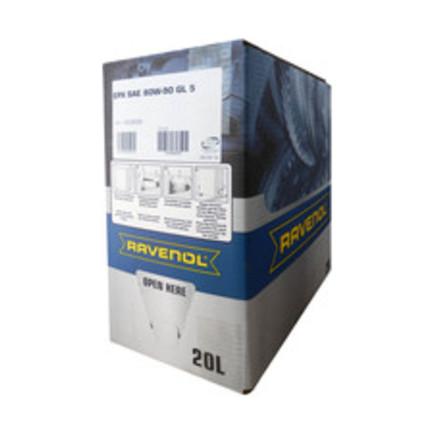 Упаковка Ecobox для автомобильного масла RAVENOL